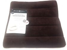 Micro Dry Home Collection Ultimate Luxury Memory Foam Pillow Cover Washable