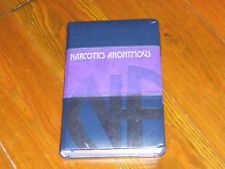Narcotics Anonymous Collectors! NEARLY NEW LIMITED EDITION BASIC TEXT 25TH ANNIV