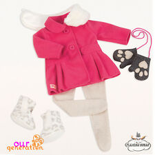 """NEW Our Generation SNOW SWEET DELUX outfit Set for 18"""" OG DOLLS - OFFICIAL UK"""