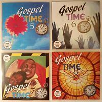 'Gospel Time' Vol 5-8 JUMBO 4pack New & Classic Reggae Gospel, Vocal, Ska, Soca