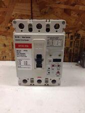 CUTLER HAMMER HFDE322532 3 POLE 600 VOLT 225 AMP LSI FUNCTIONS 65K USED