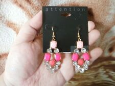 CLOSEOUT SALE! Imported From USA! $8.99 Attention Chandelier Earrings B #1