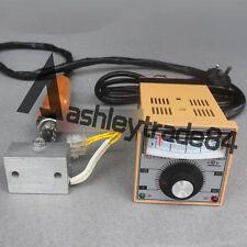 Manual Hot Foil Stamping Marking Machine Leather Pvc Printer Temp Control
