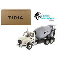 Diecast Masters 1:50 International HX615 SBFA Tandem Concrete Mixer (White)