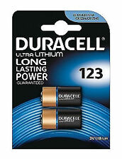 Duracell CR123C2 Lithium Photo Batteries - 2 Count