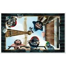 Pirate Wall Mural Insta-View Room Scene Pirate Birthday Party Wall Decoration