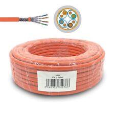 Cat.7 ARLI Cable de red desplazamiento sin halógenos instalación 25 50 100 M