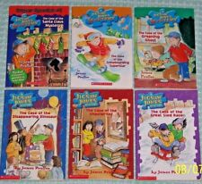 Jigsaw Jones Mystery Lot 6 Chapter Books James Preller Ages 7-10