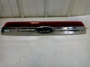 10-12 FORD FUSION SEL TRUNK LID CHROME LICENSE PLATE TRIM LIGHT OEM USED