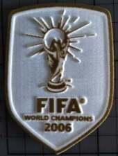 Patch badge foot World champions 2006 Italie Vainqueur coupe du Monde
