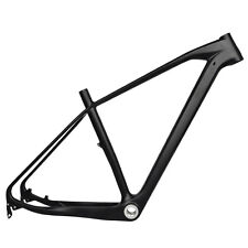 "29er 19.5""  BSA Full Carbon MTB Frame 135mm Quick Release Mountain Bike UD Matt"