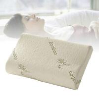 Bamboo Memory Foam Pillow Orthopedic Hypoallergenic Twin Queen King Bedroom New