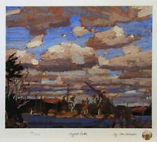Tom THOMSON Group of Seven RAGGED LAKE LTD art print MINT Algonquin Park