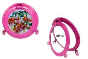 12'' Handcrafted Ship Porthole Mirror beautiful Pink Antique Finish