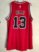 New adidas JOAKIM NOAH Red Road CHICAGO BULLS Mens NBA Swingman Team ... d43a33811