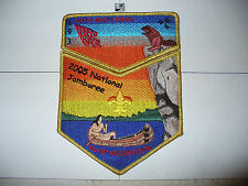 OA Ashwanchi Kinta Lodge 193,2005 Jamboree,2,Two Part Set,Cliff Diving Beaver,MS