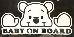 Vinyl Car Graphic Sticker Decal Car Baby On Board