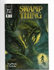 Swamp Thing #89 DC Comics 1989 VF Signed by Totleben
