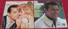 Vic Damone [Lot of 2 Vinyl LPs]: This Game Of Love / Don't Let Me Go