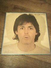 """PAUL MCCARTNEY II 12"""" Vinyl LP GATEFOLD COVER GD LP EXCELLENT Condition 1980 1ST"""