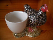 Chicken (Maran)Ceramic Egg Cup By Quail Pottery Boxed