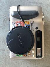 Sony Cyber-shot DSC-S75 3.2MP Digital Camera - Silver