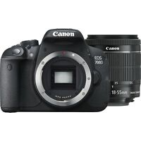 NEW Canon EOS 700D 18MP Digital SLR Camera with EF-S 18-55mm STM Lens Black Kit