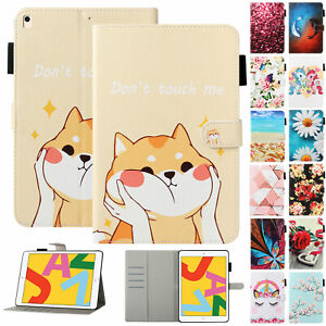 "For iPad 9.7"" 5th 6th 10.2"" 7th 8th Generation/ Air 1 2 3/ Mini Smart Case Cover"