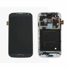 Black LCD Display & Touchscreen & Rahmen Für Samsung Galaxy S4 LTE GT-I9505
