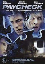 Paycheck (DVD, 2004) *Ben Affleck**Terrific Condition*