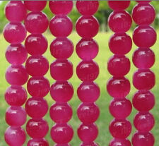 Quality Fuschia jasper Round Beads Jewelry Findings  4MM 6MM 8MM 10MM 12MM