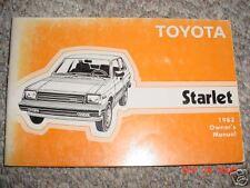 buy starlet car manuals and literature ebay rh ebay co uk Starlet GT Interior Toyota Starlet EP82 Dash