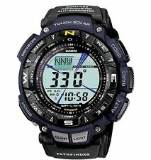 Casio Men's PAG240B-2CR  Pathfinder Triple-Sensor BLUEl K1