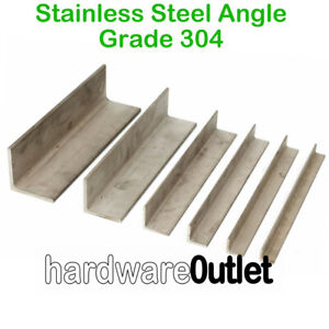 Steel ANGLE Iron Mild or Stainless Metal Alloy & Band Saw Cut specials to Order