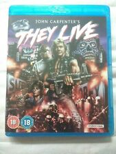 John Carpenter's They Live Blu-ray Roddy Piper Keith David Meg Foster