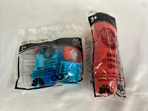 Wendy's Kids Meal Toys Minute to Win It Rapid Fire & Grab It 2 Piece Lot