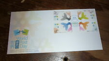 2015 HONG KONG STAMP ISSUE FDC, WORLD POST DAY SET OF 4 STAMPS