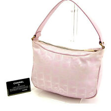 Chanel Handbag Pink Woman Authentic Used D917