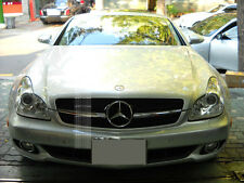 MERCEDES W219 BLACK CLS350 CLS500 Front Sport GRILLE CLS 1FIN TUNING + STAR #2