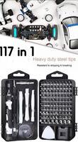 117 In 1 Magnetic Precision Screwdriver Bits Kit Set Phone PC Tablet Repair Tool