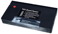 VHS Video Head Cleaner Tape With Cleaning Fluid  Wet and Dry Use