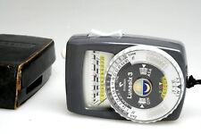 Gossen LUNASIX 3 Light Meter + Case + Strap, fully working ( + 2 x Batteries )