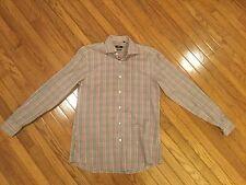BOSS Button Down Shirt Size 16 Long Sleeve Slim Fit