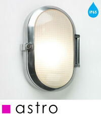 Astro Toronto 0326 Oval outdoor wall light IP65 Polished Aluminium and Glass