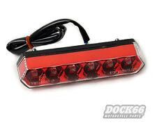 LED Rücklicht Rot mit E-Prüfzeichen für Harley + Custom