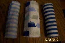 Lot of 3 Cloud Island Baby Blankets - New