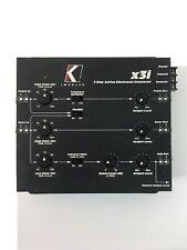 Kicker x3i Impulse 3-Way Active Electronic Crossover