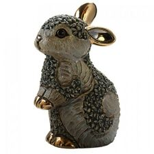 De Rosa Baby Bunny Standing Figurine F410A in Branded Gift Box