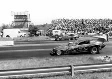 """Jungle Jim"" Liberman 76 ""Revell"" Monza NITRO Funny Car NY National PHOTO!"