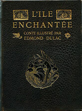 RARE EO H.PIAZZA EDMOND DULAC + MICHEL RHUNE + SHAKESPEARE : L'ÎLE ENCHANTÉE